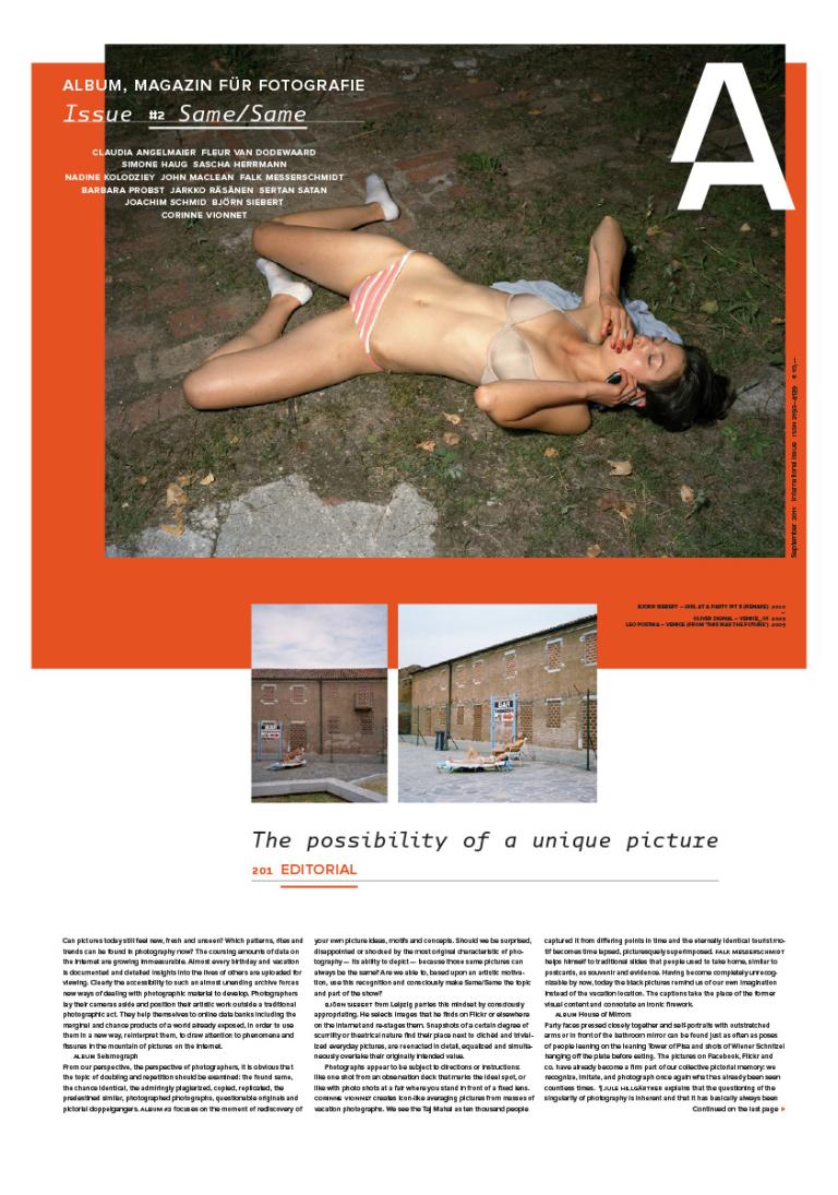 Album, Magazin für Fotografie Shop